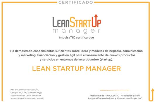 Cómo conseguir la certificación Lean Startup Manager en el Westartup